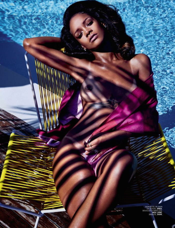 Rihanna Goes Naked for Lui Magazine 04