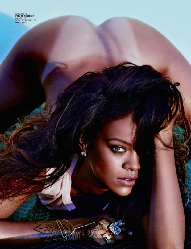 Rihanna Goes Naked for Lui Magazine 06
