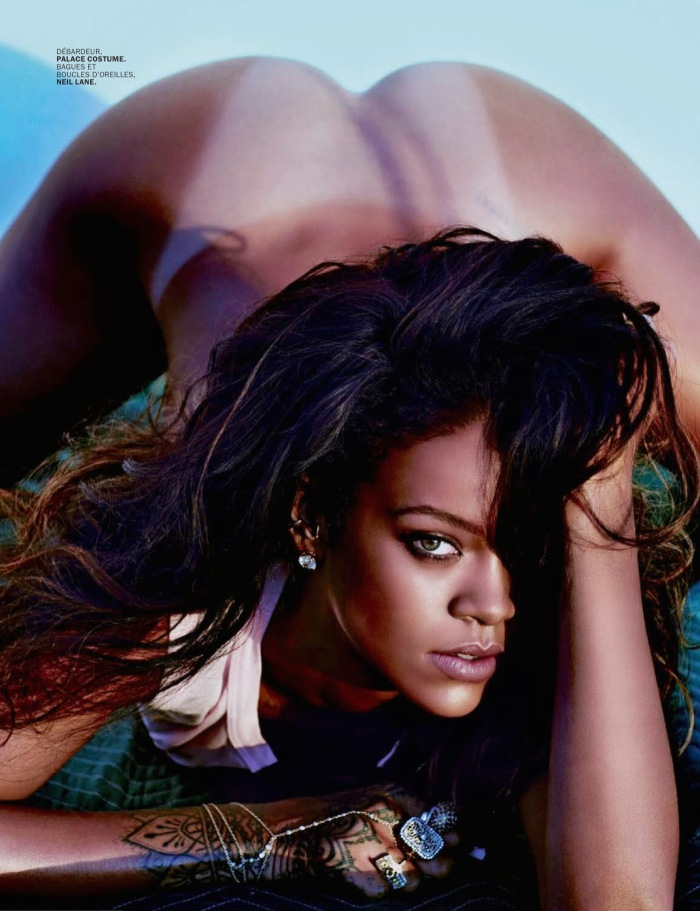 Rihanna Goes Naked for Lui Magazine 06