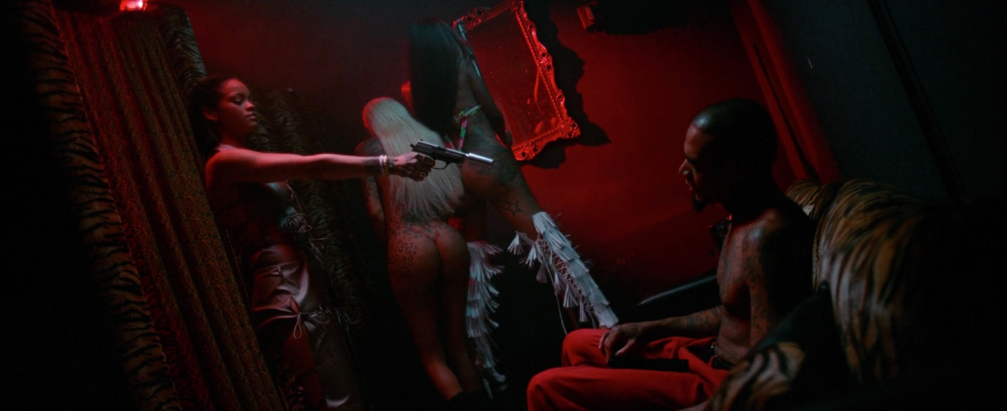 """Rihanna's titillating Videos for """"Needed Me""""NSFW"""
