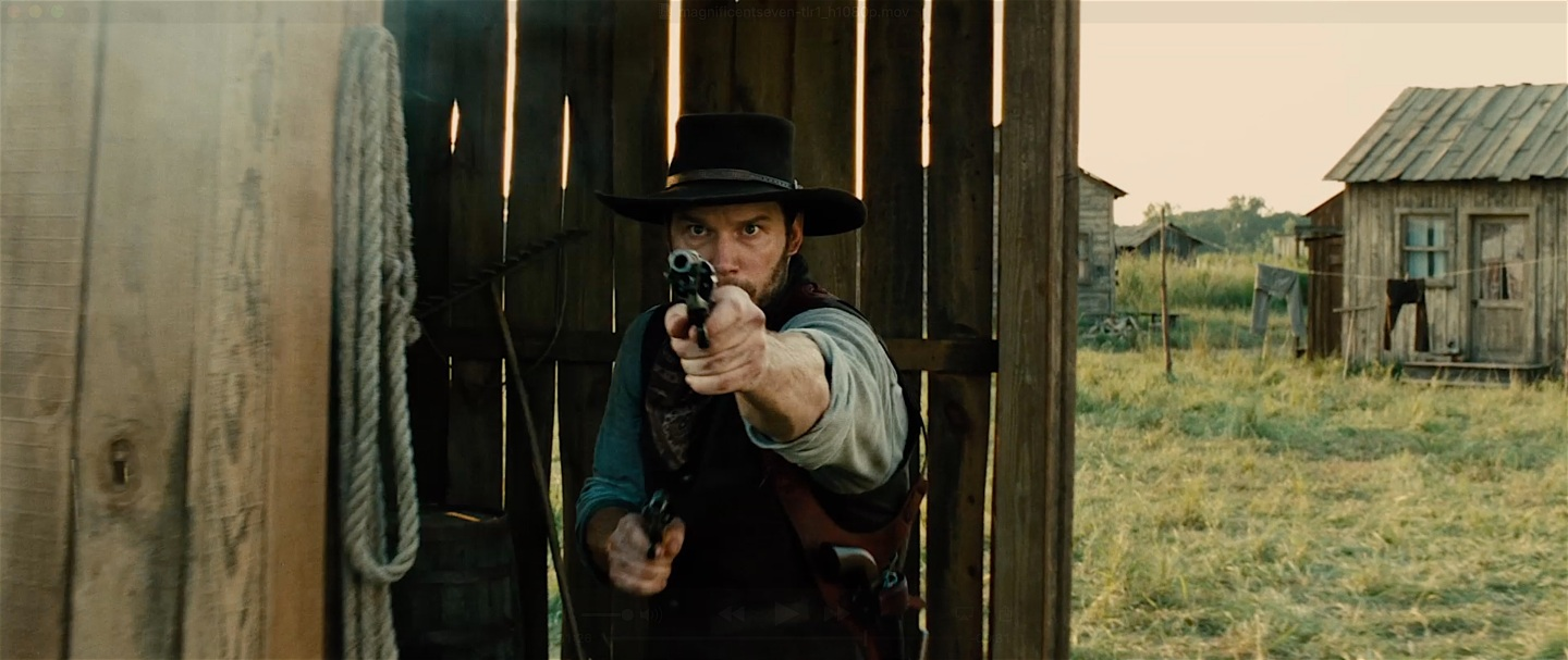 First Trailer for The MagnificentSeven