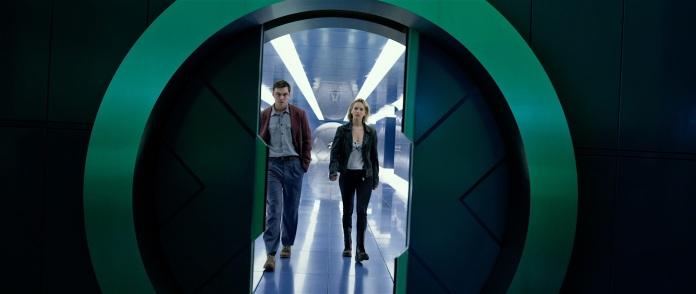 X-Men Apocalypse Trailer Still 016 Jennifer Lawrence as Mystique Nicholas Hoult as Beast