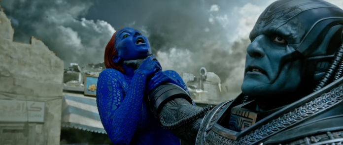 X-Men Apocalypse Trailer Still 029 Jennifer Lawrence as Mystique Oscar Isaac Apocalypse