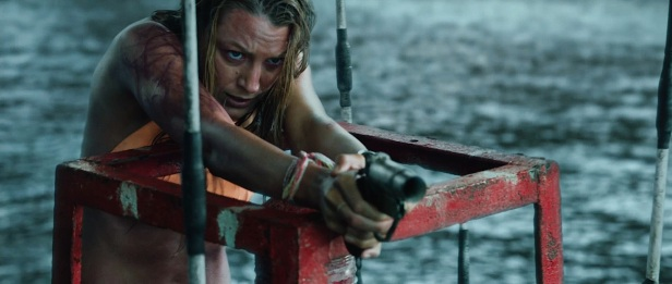 The Shallows Trailer Blake Lively Orange Bikini and Flare Gun