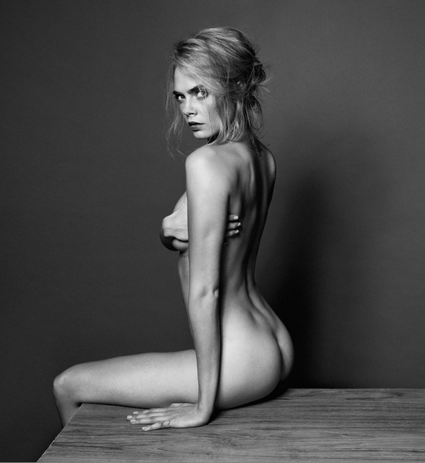 Cara Delevingne Goes Nude for Esquire UK 2