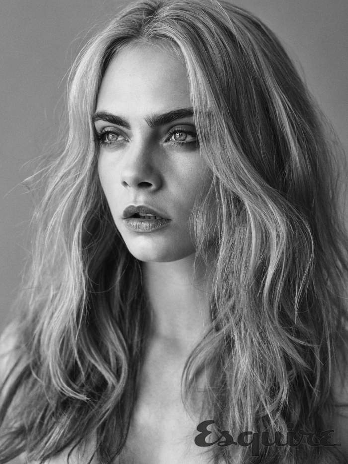 Cara Delevingne Goes Nude for Esquire UK 8