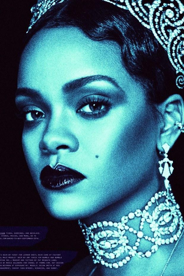 Rihanna Baddest Bitch Apocalypse W Magazine Sept 2016 10