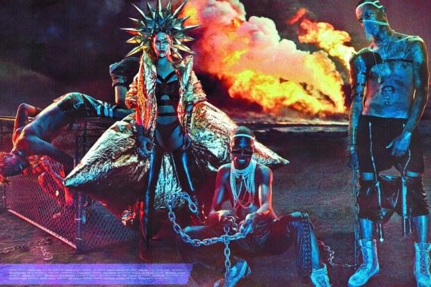 Rihanna Baddest Bitch Apocalypse W Magazine Sept 2016 3
