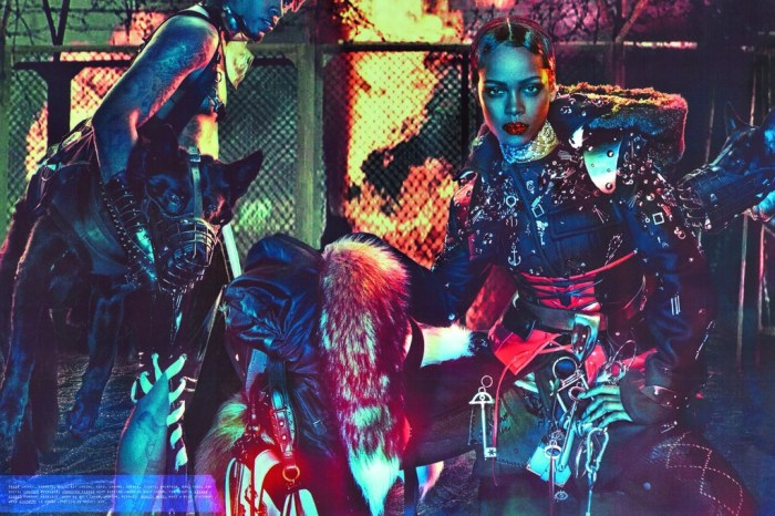 Rihanna Baddest Bitch Apocalypse W Magazine Sept 2016 5