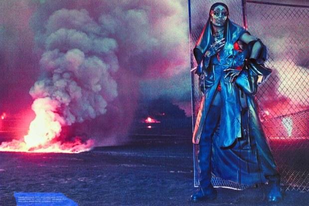 Rihanna Baddest Bitch Apocalypse W Magazine Sept 2016 7
