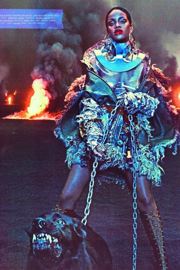 Rihanna Baddest Bitch Apocalypse W Magazine Sept 2016 9