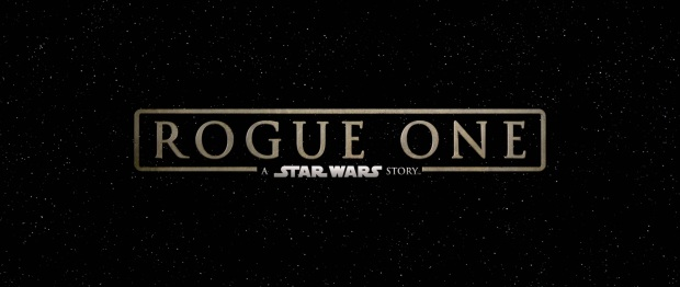 Rogue One A Star Wars Story Title